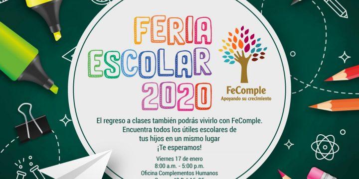 ¡Feria escolar 2020!